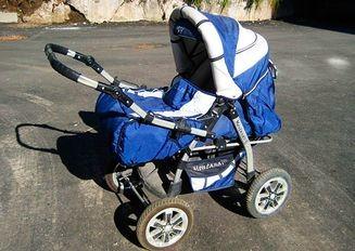 В Чехии у нерадивого отца «угнали» коляску со спящим ребенком