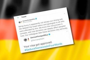 МИД Германии пришлось извиняться за «соблазнительную» шутку