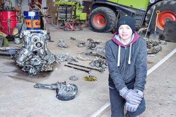 В Дании школьник случайно нашел немецкий истребитель, выполняя задание по истории