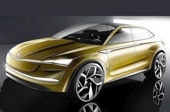 Škoda выпустит конкурента Tesla Model X