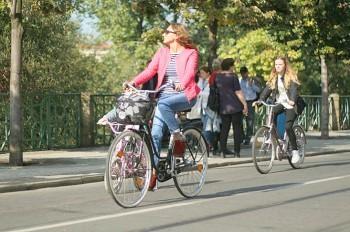 Прага выпустила мобильное приложение для велосипедистов