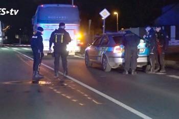 В Праге автобус сбил пешехода