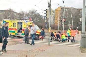 Трагедия в Праге: авто сбило на «зебре» четверых пешеходов