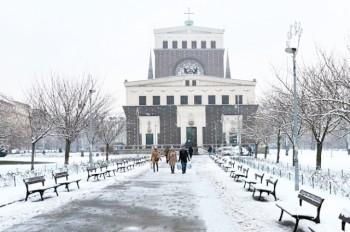 Прошедшая зима оказалась одной из самых теплых в истории Праги