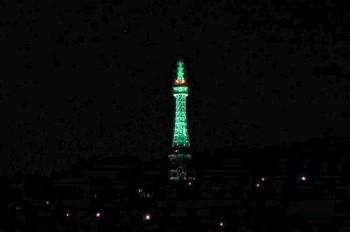Петршинская башня в Праге позеленеет