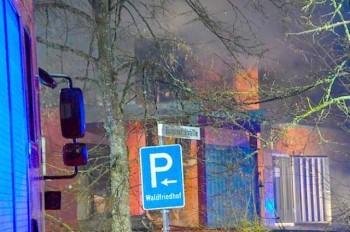 В Германии сгорел крематорий: пострадавших нет