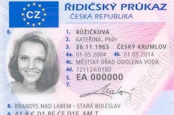 В Чехии станет проще получить водительское удостоверение
