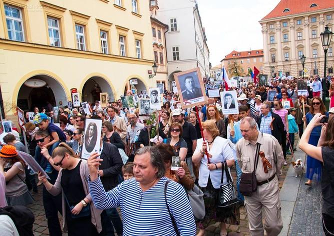 В Праге состоится шествие «Бессмертный полк»