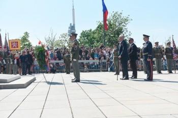 В Праге почтили память жертв Второй мировой войны: видео