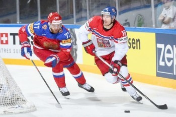 Чехия сыграет с Россией на ЧМ по хоккею