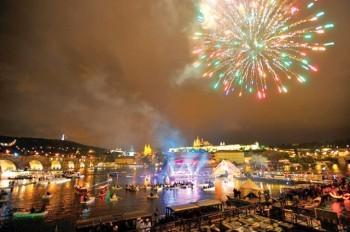Вечером в Праге пройдет речной фестиваль Navalis