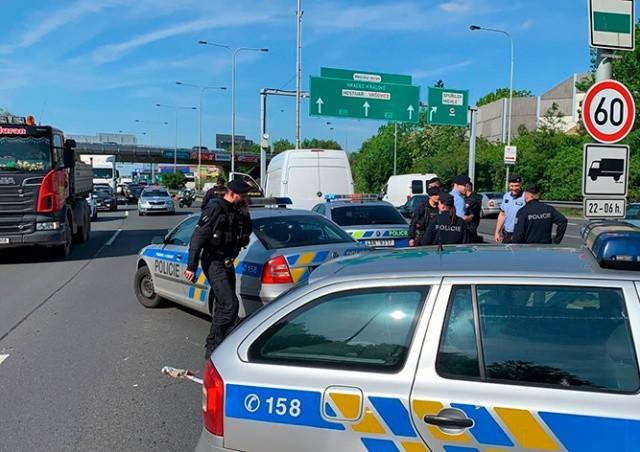 В Праге произошла полицейская погоня со стрельбой