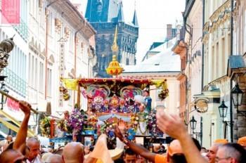 В воскресенье в центре Праги состоится индийский фестиваль Ратха-ятра