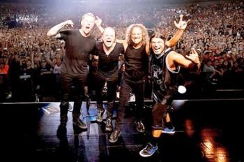 Группа Metallica выступит в Праге летом 2019 года