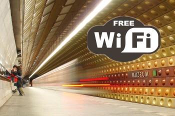 В пражском метро появился бесплатный Wi-Fi