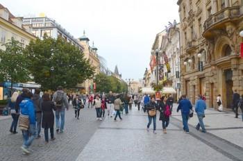 Пражская улица Na Příkopě оказалась одной из самых дорогих в мире
