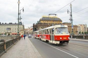 С четверга в Праге отменят 22-й маршрут трамвая