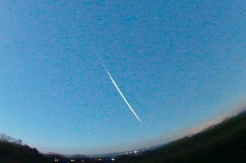 В Чехии упал метеорит