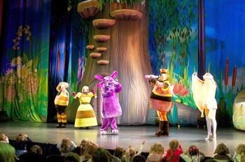 В Праге покажут детский спектакль «Новогодние приключения Лунтика»