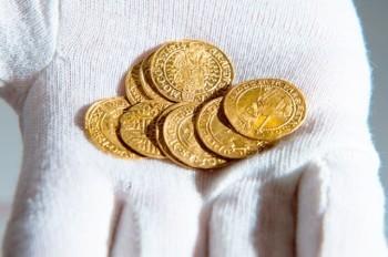 Житель Чехии случайно нашел клад золотых монет