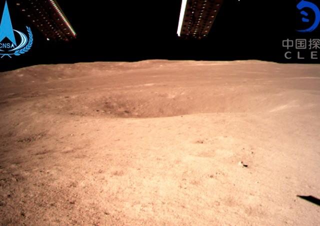 Опубликовано видео посадки зонда на обратную сторону Луны