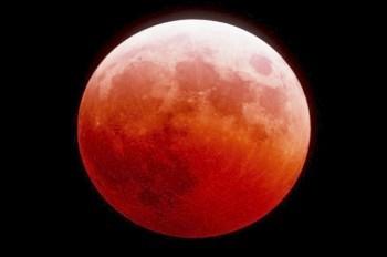 В июле жители Чехии увидят «кровавую» Луну