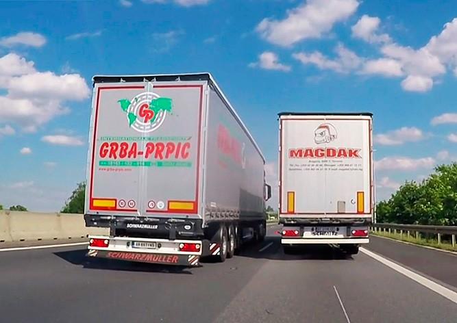 Минтранс Чехии хочет запретить фурам обгон на автомагистралях