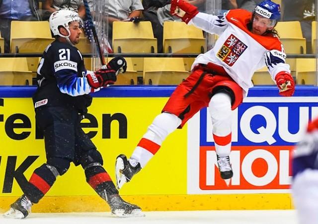 Чехия проиграла США в четвертьфинале ЧМ по хоккею: видео