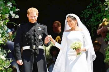 Принц Гарри и актриса Меган Маркл поженились